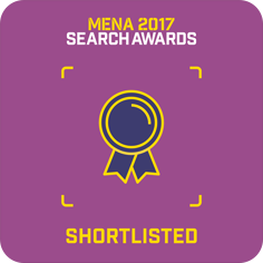 Nexa, Shortlisted for the MENA 2017 Search Awards