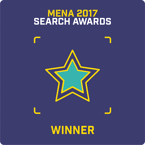Mena 2017 - Search Awards - Winner, Nexa Digital