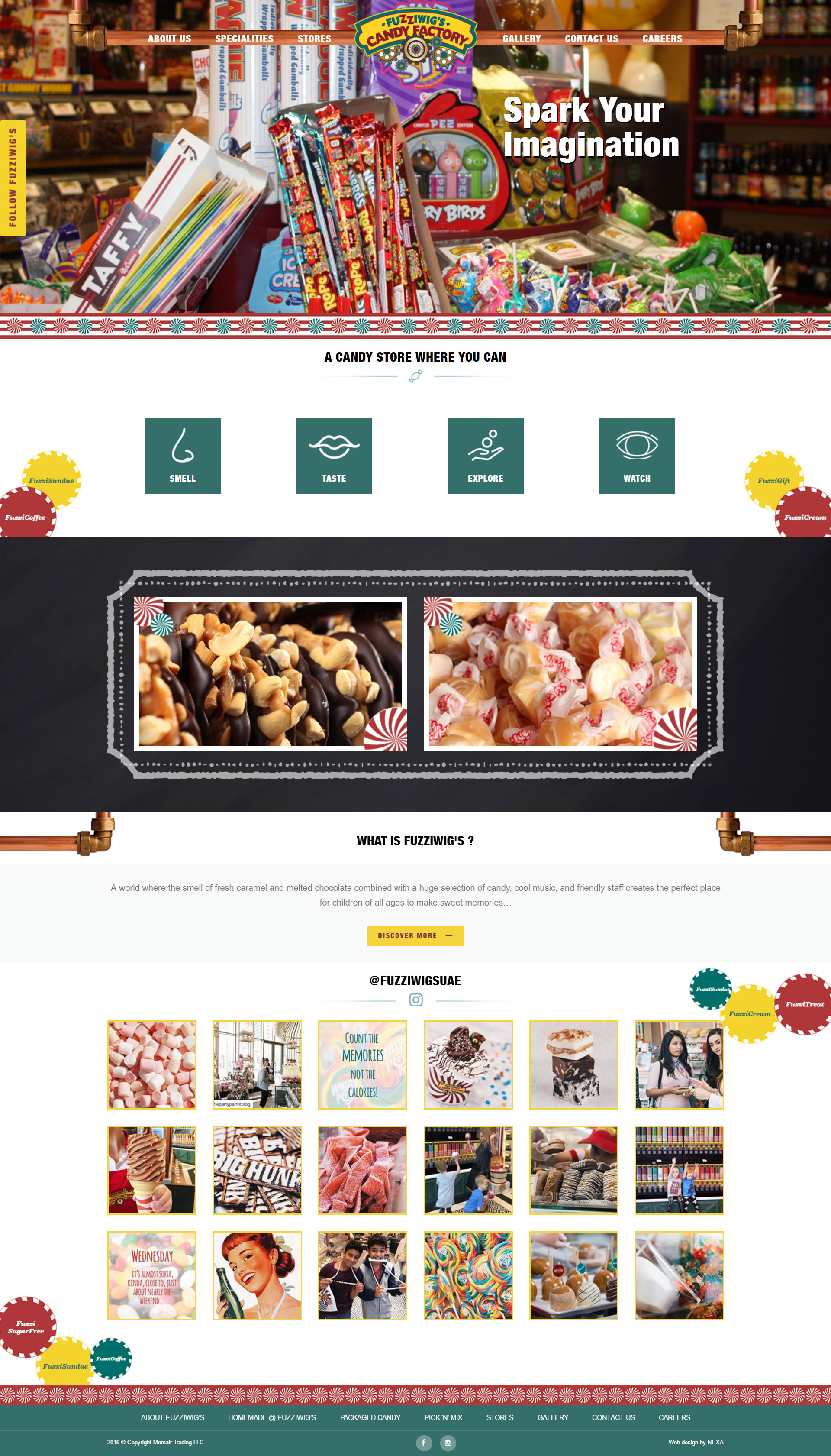 Fuzziwigs - Website by Nexa