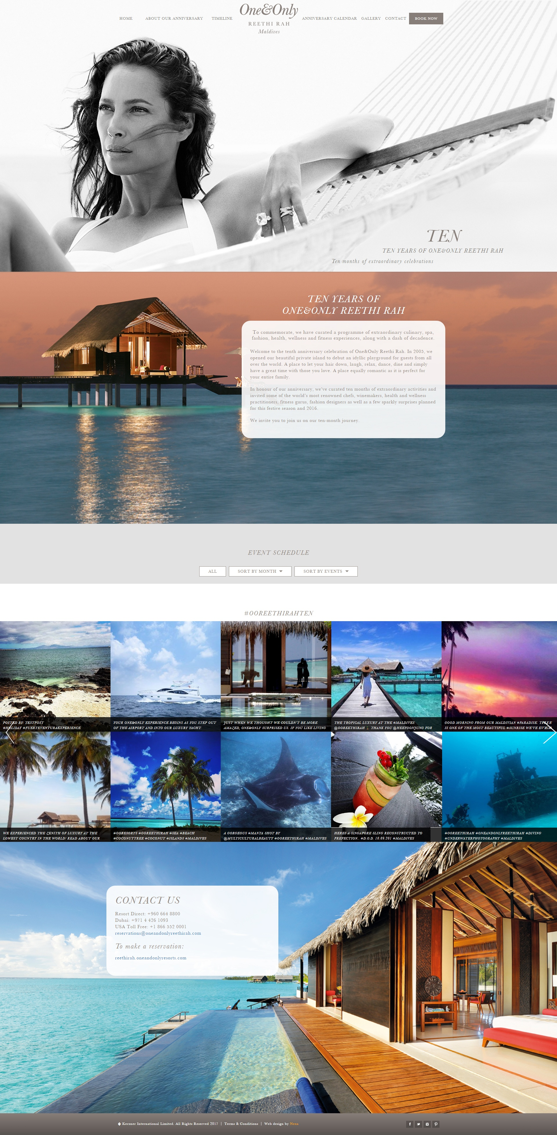 One&Only Website by Nexa