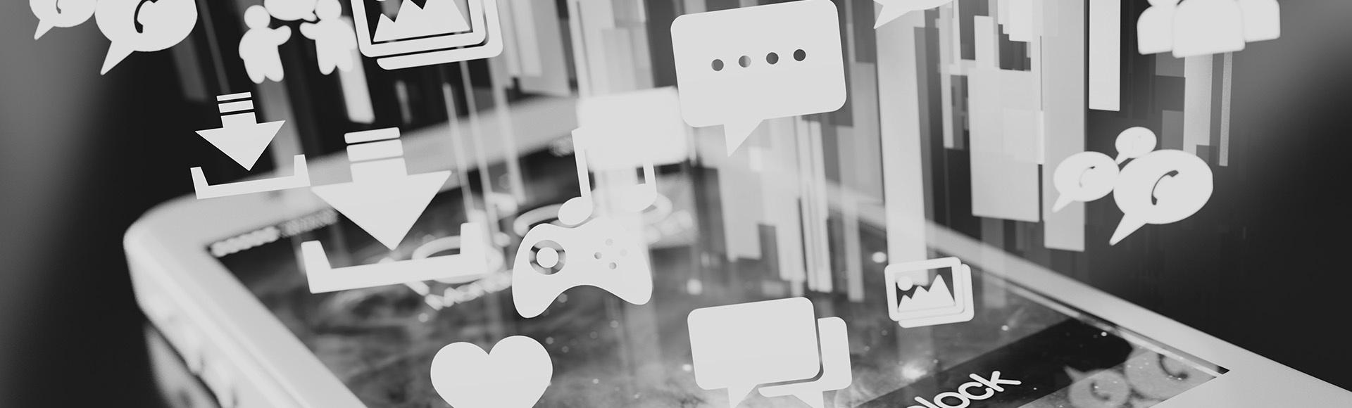 Social Media Mobile Application Services with Digital Nexa, UAE
