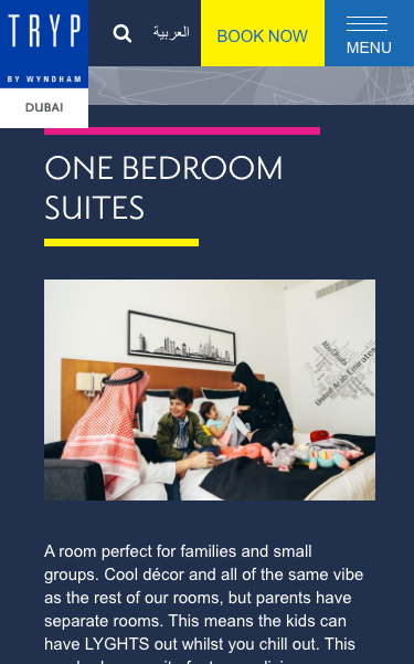 Family Accommodation   Hotels with Family Rooms in Dubai  UAE