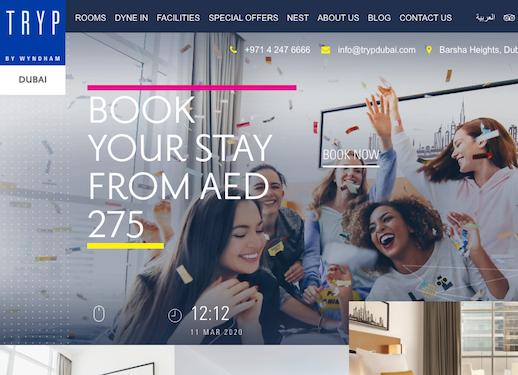 TRYP by Wyndham Dubai   Lifestyle 4 Star Hotel in Barsha Heights (1)